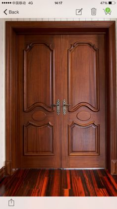 Master Bedroom Grand Entrance - traditional - interior doors ...
