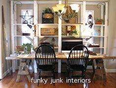 Fav room in my house? My JUNKY blog office!
