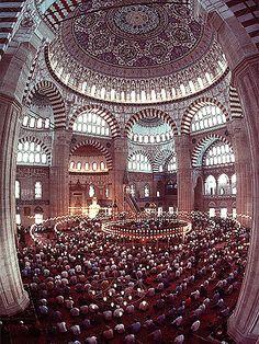 Selimiye Mosque, Edirne, Turkey by nalindes