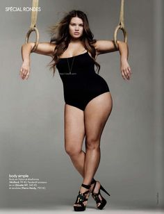 Tara Lynn, she is a size 16 and DROP DEAD GORGEOUS you don't have to be stick thin to be beautiful