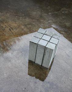 Lian van Wanrooij - Concrete stool / more than just a squeare box