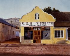 The Disappearing Small Town Shops of Karoo Loft Interior Design, Interior Ideas, Messy Nessy Chic, Living Under A Rock, Loft Interiors, Butterfly Painting, Realistic Paintings, Shop Fronts, Beautiful Hotels