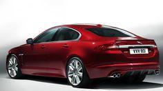Red Jaguar XF