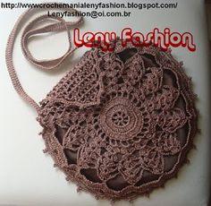 Crochet Clutch, Crochet Handbags, Crochet Purses, Crochet Diy, Crochet Crafts, Crochet Projects, Crochet Squares, Crochet Stitches, Crochet Patterns