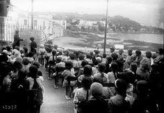 09-12-1915, (Saint-Jean) Cap-Ferrat, les petits orphelins de la guerre (pendant un cours de chants patriotiques) : photographie de presse / Agence Rol