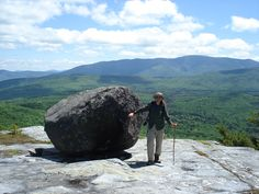 Tipping Rock, Black Mtn NH 5/29/15