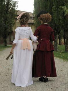 A Chemise à la Reine and the Riding habit