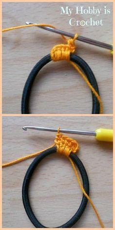 Mi hobby es Crochet: Diadema Tema   patrón de ganchillo gratis con Tutorial   Mi Hobby es de ganchillo