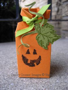 Stampin' Up!  Candy Wrapper  Tracey Crosser