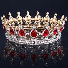 Bling Bridal Peacock Crystal Tiara Wedding Crown Bridal Rhinestone Pag – Bling Brides Bouquet - Online Bridal Store