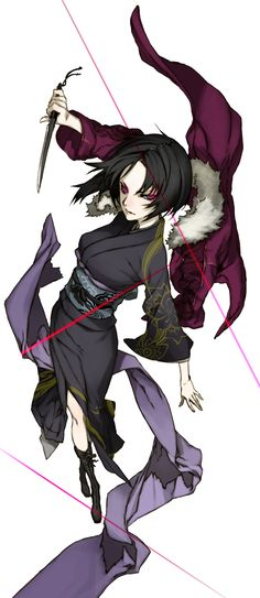 Tags: Kara no Kyoukai, Ryougi Shiki, Miwa Shirow