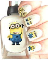 Easy to use, High Quality Nail Art Decal Stickers For Every Occasion! Minions £3.99 inc. delivery