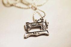 Singer pendant #whitelilydesign