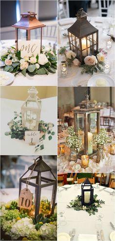 lantern wedding centerpiece ideas #weddingideas #weddingdecor #weddingcenterpieces