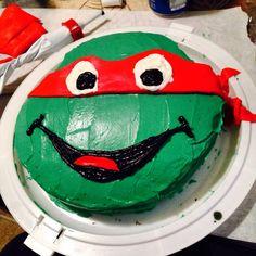 Awesome DIY Ninja Turtles Cake
