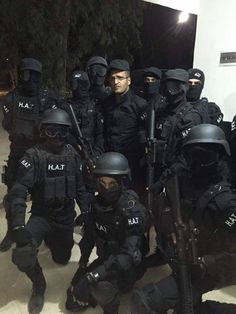Police Special Forces of Rojava (HAT)