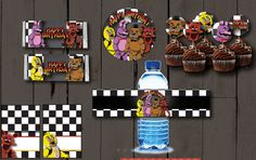 Five Nights at Freddy's Party Pack PLUS Invitation by CocoDelava