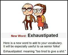 New word for seniors