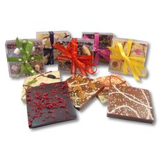 Chocolate Slabs individually wrapped, perfect for Wedding Favours!