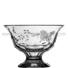 Springtime Clear Footed Bowl 8' 248€ Whiskey Decanter, Luxury Candles, Crystal Collection, Decorative Bowls, Candle Holders, Crystals, Gifts, Presents, Porta Velas