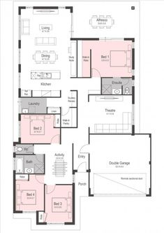 Porch Bed, House Blueprints, New Home Designs, House Layouts, Kit Homes, Next At Home, Building Plans, House Prices, Perth