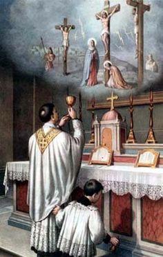 El Divino Sacrificio de la Misa