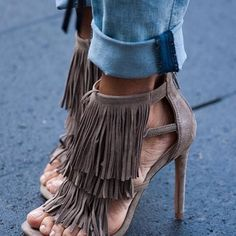 FRINGLY: STEVE MADDEN, $129.00 I need these in my life