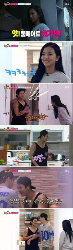 GOT7's Jackson Gets Too Shy When He Met His Ideal Girl Song Ga Yeon | Soompi