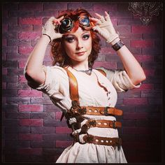 Love my wife! @redhair83 #heretic #steampunk...