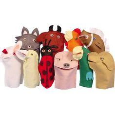 Kit de Fantoche Animais Domésticos