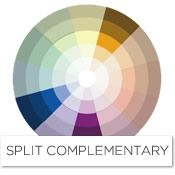 Split Complementary Color Scheme Room split complementary color scheme | color inspiration | pinterest