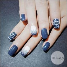 """Explore our web site for additional details on """"trending nail designs nail art"""". It is actually a great location to read more. Latest Nail Designs, Toe Nail Designs, Blue Nails, My Nails, Nail Art Blue, Gorgeous Nails, Pretty Nails, Korea Nail Art, Tribal Nails"""