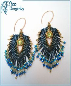 Beaded Jewelry Designs by Ann Braginsky featured in Bead-Patterns.com Newsletter!