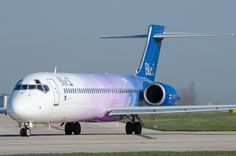 Boeing 717, OH-BLQ, Blue 1.