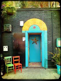 Blue Star Door