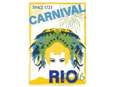 brazil carnival rio poster - Google Search