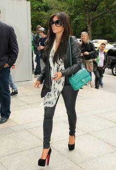 Kim Kardashian Fashion and Style - Kim Kardashian Dress, Clothes, Hairstyle - Page 35