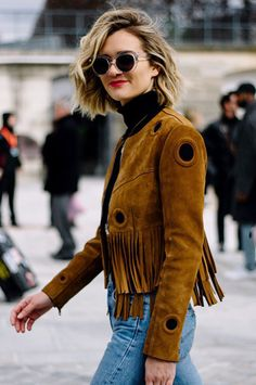 The '70s-Inspired Jacket Every Blogger Is Wearing