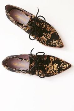 Farylrobin Gilded Rosebloom Oxfords   Pinned by topista.com