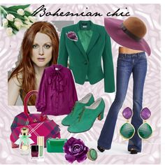 Bohemian chic, created by dea-afrodite on Polyvore