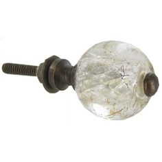 Antique Glass Round Knob | Hobby Lobby | 696609