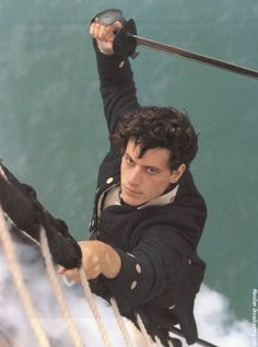 ioan gruffudd. Horatio Hornblower. Have horn will blow! Most beautiful man ever.