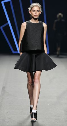Amaya Arzuaga - Madrid Fashion Week P/V 2016 #mbfwm