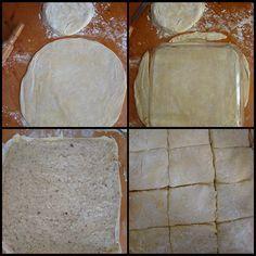 Cevizli kekli baklava tarifi - rumma - rumma Bread, Cheese, Food, Recipes, Cook, Kuchen, Brot, Essen, Baking