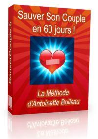 Avis livre Sauver son couple en 60 jours pdf par Antoinette Boileau