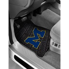 Michigan Wolverines NCAA Car Front Floor Mats 2 17x25