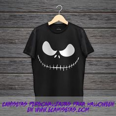 Camiseta sonrisa halloween