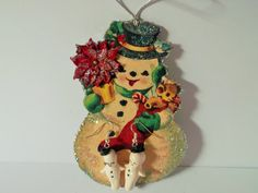 Kewpie Handmade Snowman/Fairy/Angel/Miniature by miabirdcreations