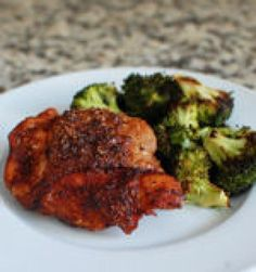 Spice Rubbed Chicken - Chicken plus 6 spices I already have in the pantry.  From Beantown Baker