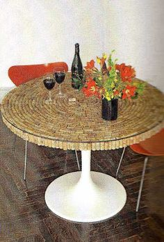OK..what is the name of that store that sells all the wine cork furniture? * Terramia *: Crazy for Corks